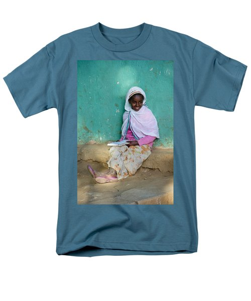Ethiopia-south School Girl Men's T-Shirt  (Regular Fit) by Robert SORENSEN