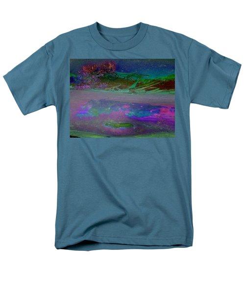Men's T-Shirt  (Regular Fit) featuring the digital art Grow by Richard Laeton