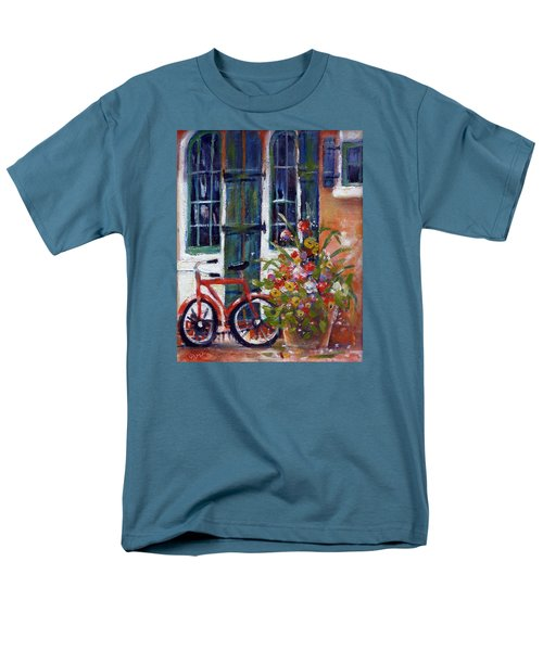Habersham Bike Shop Men's T-Shirt  (Regular Fit) by Gertrude Palmer