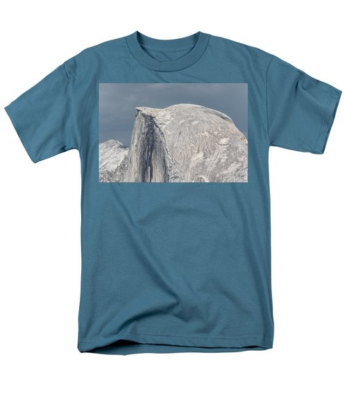 Half Dome From Glacier Point At Yosemite Np Men's T-Shirt  (Regular Fit) by Michael Bessler