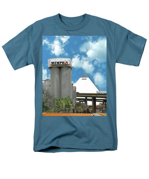 Men's T-Shirt  (Regular Fit) featuring the photograph Hello Memphis by Lizi Beard-Ward