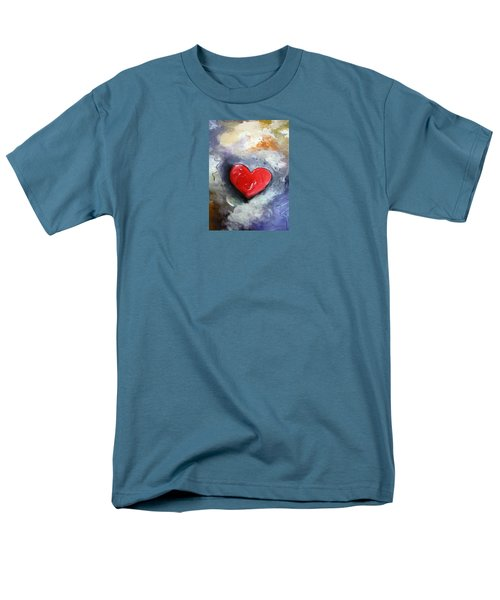I Love You Men's T-Shirt  (Regular Fit) by Gary Smith