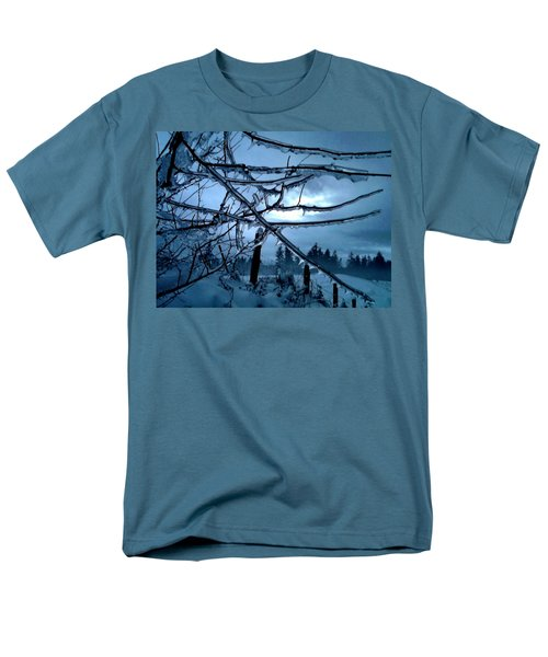 Men's T-Shirt  (Regular Fit) featuring the photograph Illumination by Rory Sagner