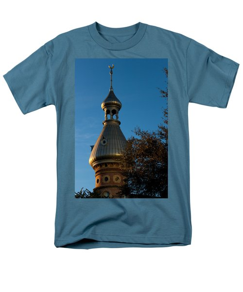 Men's T-Shirt  (Regular Fit) featuring the photograph Minaret And Trees by Ed Gleichman