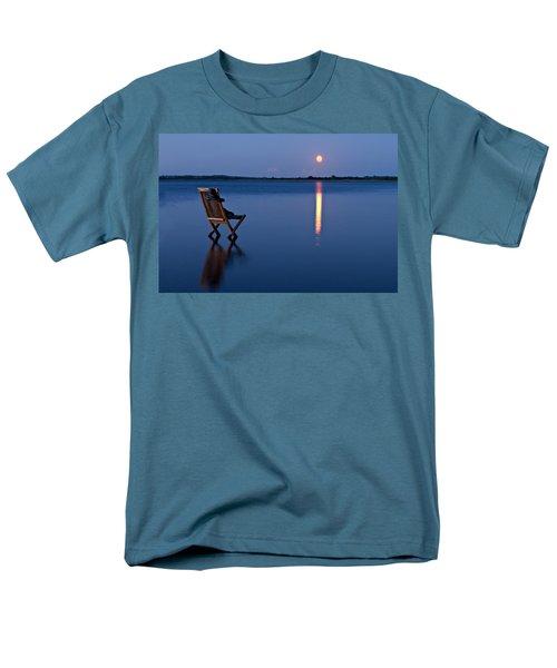 Men's T-Shirt  (Regular Fit) featuring the photograph Moon Boots by Gert Lavsen