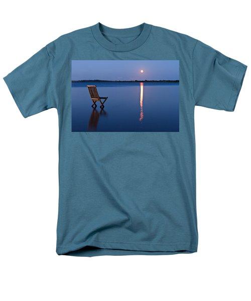 Men's T-Shirt  (Regular Fit) featuring the photograph Moon View by Gert Lavsen