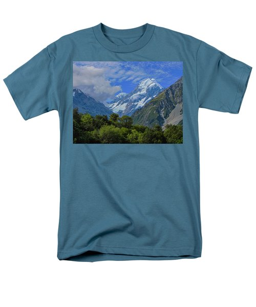 Men's T-Shirt  (Regular Fit) featuring the photograph Mount Cook by David Gleeson
