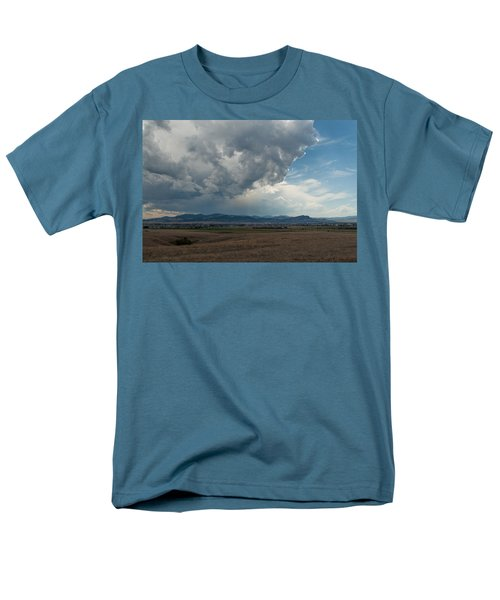 Men's T-Shirt  (Regular Fit) featuring the photograph Promises Of Rain by Fran Riley