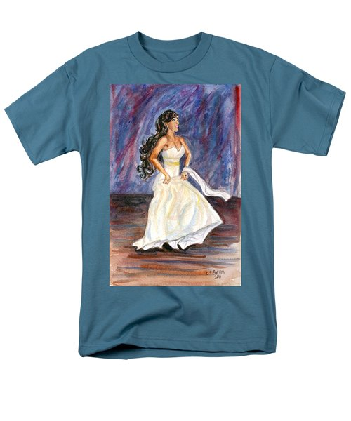 Men's T-Shirt  (Regular Fit) featuring the painting Rachel by Clara Sue Beym