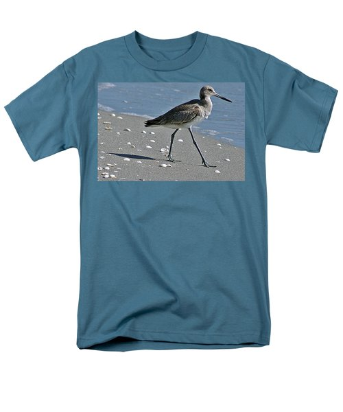 Sandpiper 1 Men's T-Shirt  (Regular Fit) by Joe Faherty