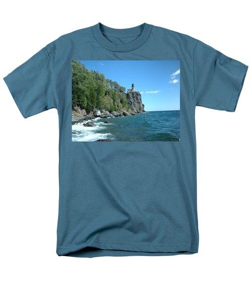 Men's T-Shirt  (Regular Fit) featuring the photograph Split Rock by Bonfire Photography