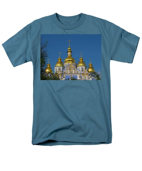 Men's T-Shirt  (Regular Fit) featuring the photograph St. Michael's Cathedral by David Gleeson