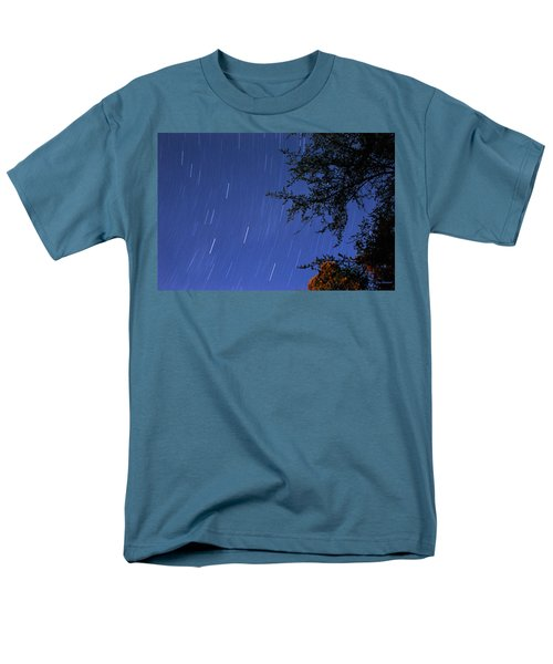 Stars Falling Men's T-Shirt  (Regular Fit) by Kay Lovingood
