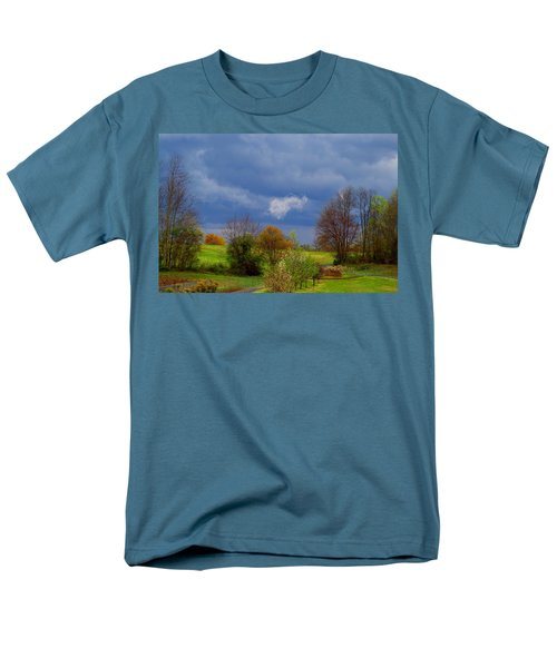 Men's T-Shirt  (Regular Fit) featuring the photograph Storm Cell by Kathryn Meyer
