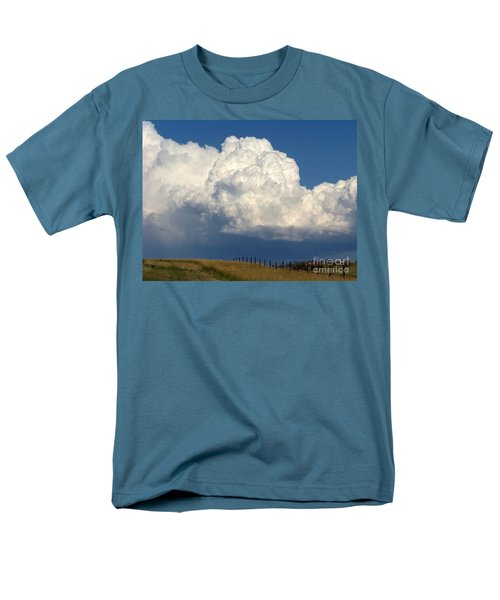 Storm's A Brewin' Men's T-Shirt  (Regular Fit) by Dorrene BrownButterfield