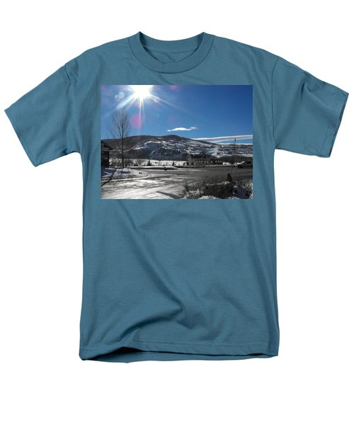 Sun On Ice Men's T-Shirt  (Regular Fit) by Adam Cornelison