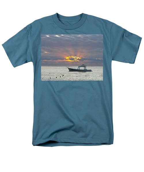 Men's T-Shirt  (Regular Fit) featuring the photograph Sunrise - Puerto Morelos by Sean Griffin