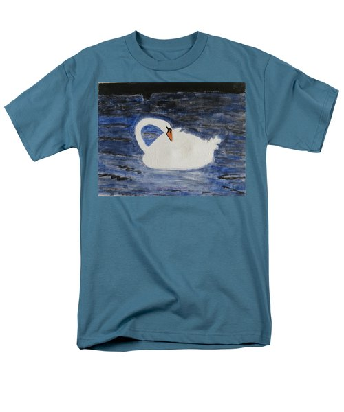 Men's T-Shirt  (Regular Fit) featuring the painting Swan  by Sonali Gangane