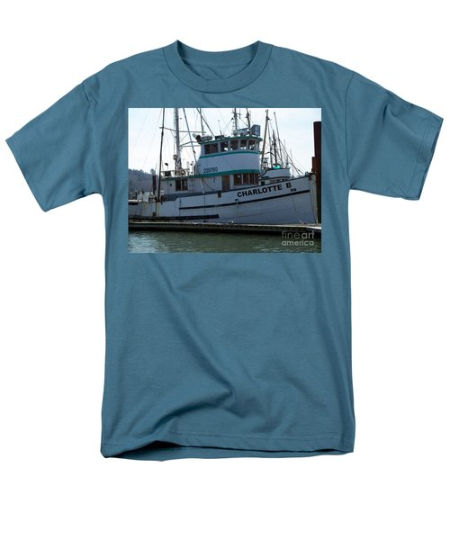 The Charlotte B Men's T-Shirt  (Regular Fit) by Chalet Roome-Rigdon