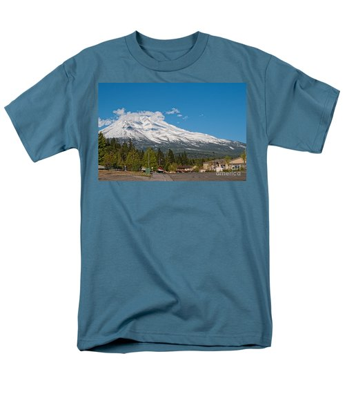 The Heart Of Mount Shasta Men's T-Shirt  (Regular Fit) by Carol Ailles