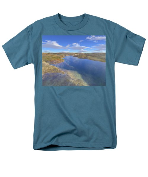 Valley Stream 2 Men's T-Shirt  (Regular Fit) by Mark Greenberg