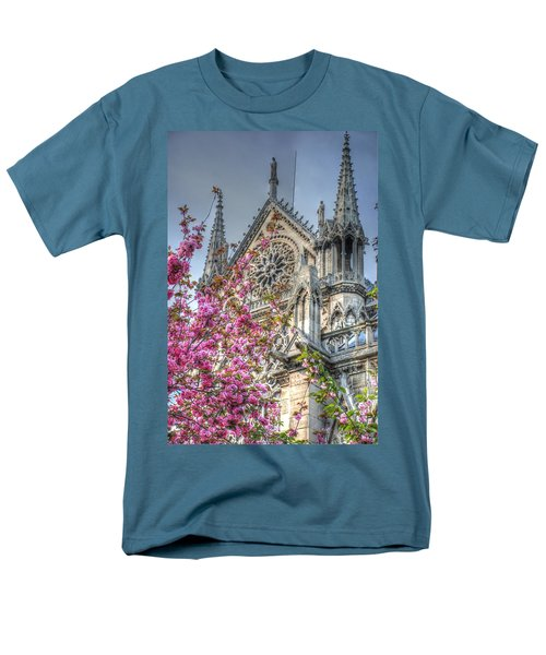 Men's T-Shirt  (Regular Fit) featuring the photograph Vibrant Cathedral by Jennifer Ancker