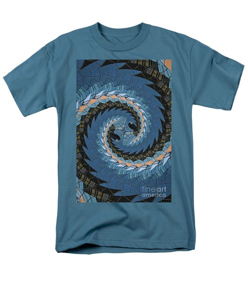 Men's T-Shirt  (Regular Fit) featuring the photograph Wave Mosaic. by Clare Bambers