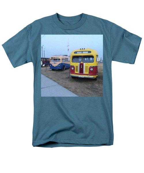 Retro Bus Men's T-Shirt  (Regular Fit)
