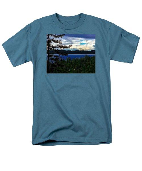 Chrystal Blue Waters Men's T-Shirt  (Regular Fit)