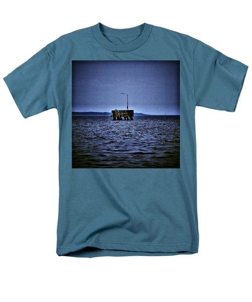Men's T-Shirt  (Regular Fit) featuring the photograph  The Dock Of Loneliness by Jouko Lehto