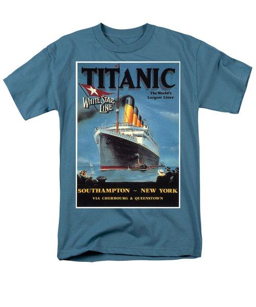 0065186 Men's T-Shirt  (Regular Fit) by Titanic