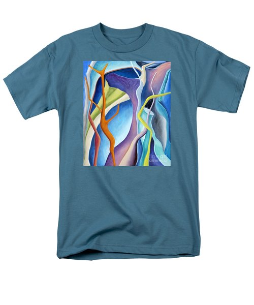 01322 Aspiration Men's T-Shirt  (Regular Fit) by AnneKarin Glass