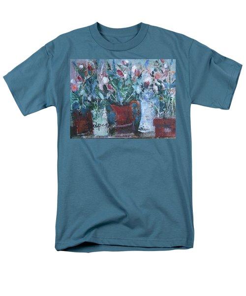 Abstract Flowers Men's T-Shirt  (Regular Fit) by Betty Pieper