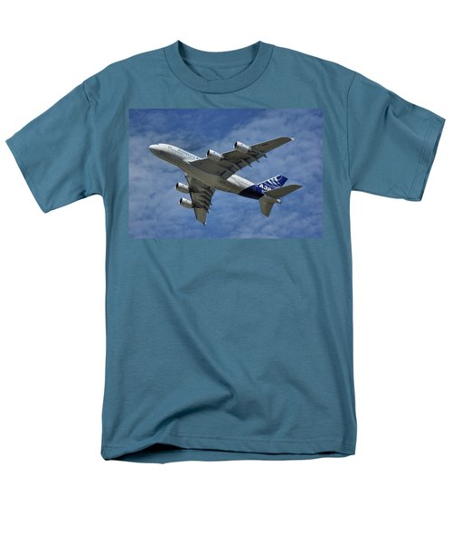 Men's T-Shirt  (Regular Fit) featuring the photograph Airbus A380 by Tim Beach