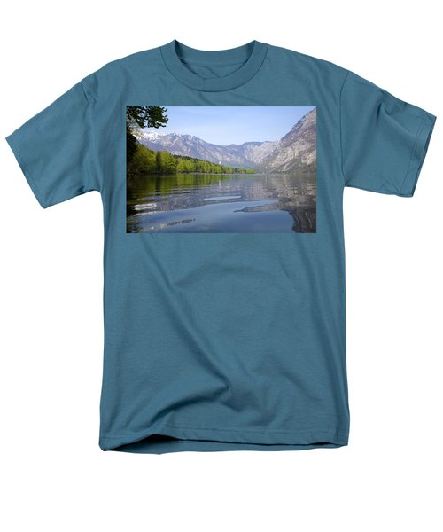 Men's T-Shirt  (Regular Fit) featuring the photograph Alpine Clarity by Ian Middleton