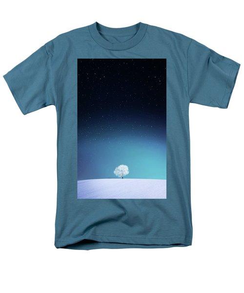 Apple Men's T-Shirt  (Regular Fit) by Bess Hamiti