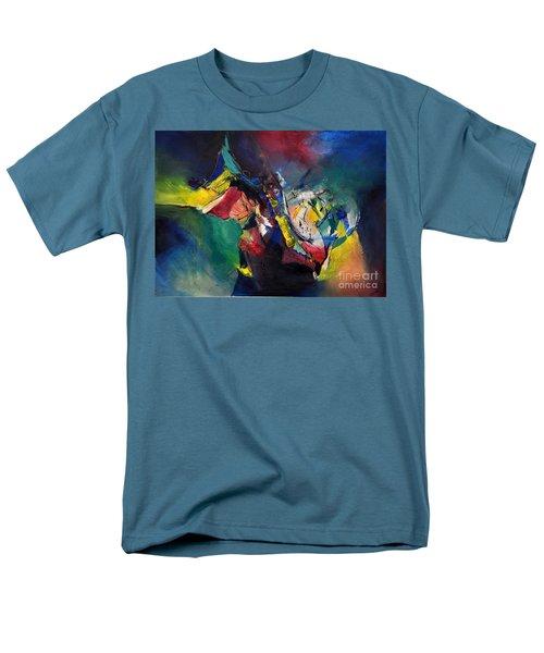 Aztec Man Men's T-Shirt  (Regular Fit) by Glory Wood