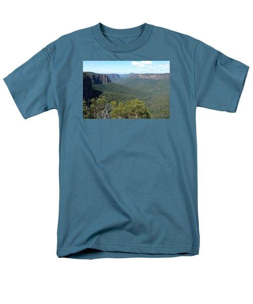 Blue Mountains Men's T-Shirt  (Regular Fit) by Carla Parris