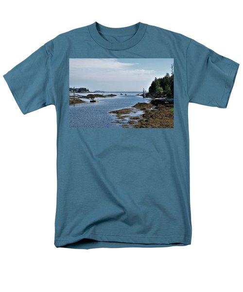 Coastal Maine Men's T-Shirt  (Regular Fit)