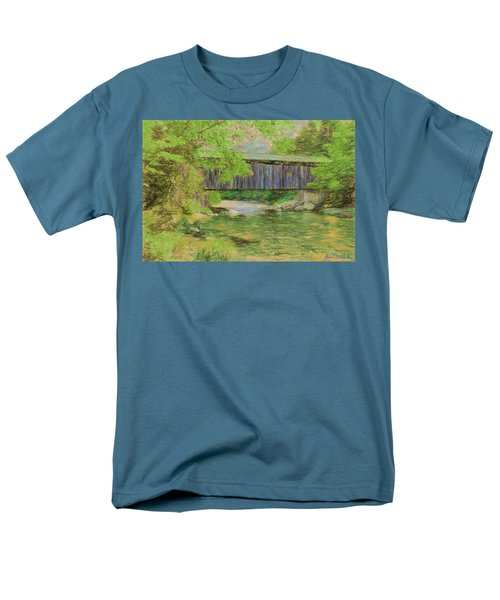 Cool And Green And Shady Men's T-Shirt  (Regular Fit)