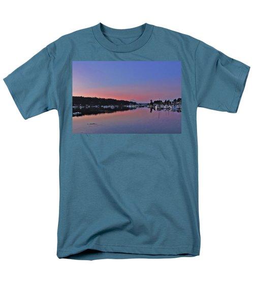 Dawn At Gig Harbor Men's T-Shirt  (Regular Fit) by Jack Moskovita
