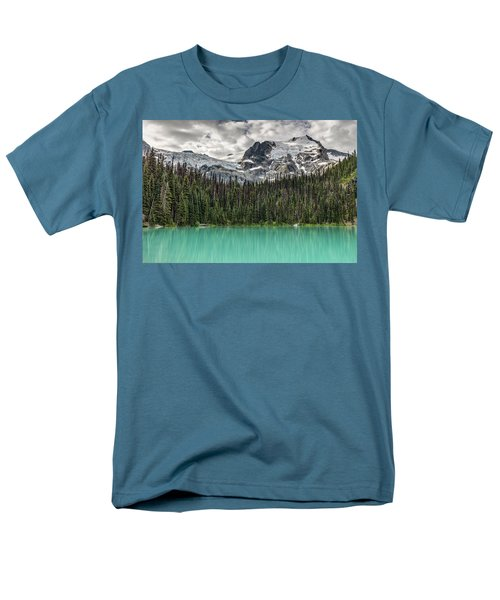 Emerald Reflection Men's T-Shirt  (Regular Fit) by Pierre Leclerc Photography