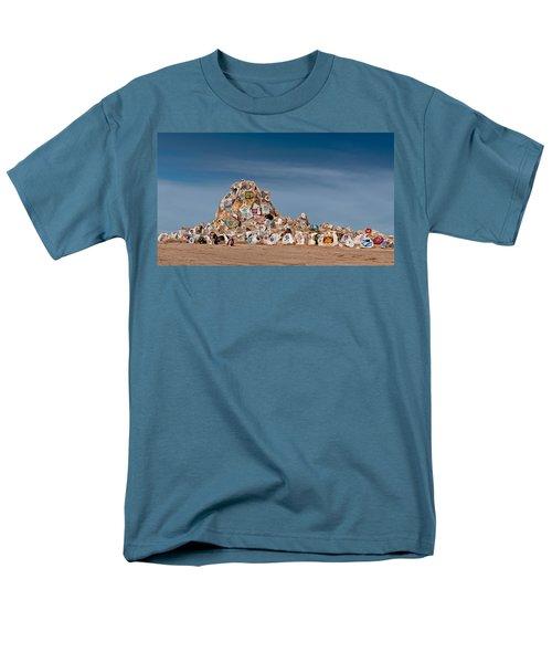Fort Irwin Men's T-Shirt  (Regular Fit) by Jim Thompson