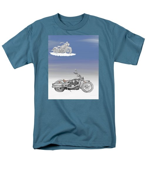 Men's T-Shirt  (Regular Fit) featuring the drawing Grandson by Terry Frederick