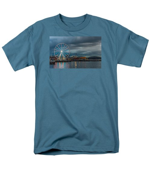 Great Wheel Men's T-Shirt  (Regular Fit) by Jerry Cahill