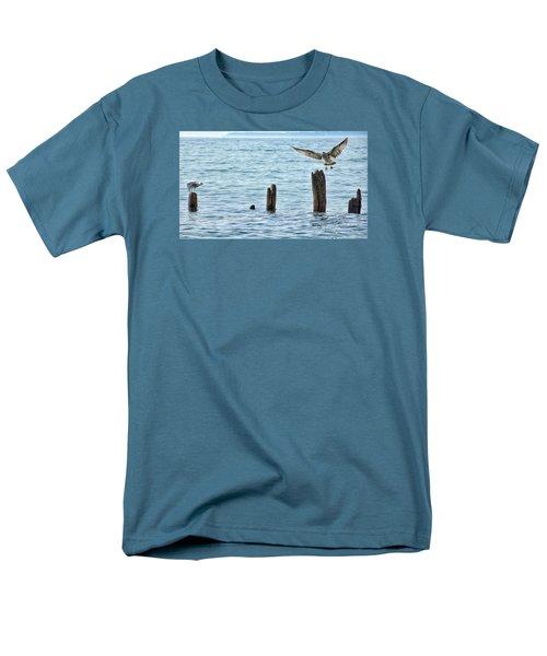 Men's T-Shirt  (Regular Fit) featuring the photograph In Flight by Nikki McInnes