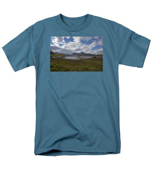 Men's T-Shirt  (Regular Fit) featuring the photograph In Glencoe Uk by Dubi Roman