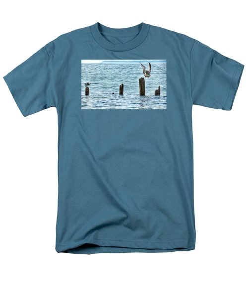 Men's T-Shirt  (Regular Fit) featuring the photograph Incoming by Nikki McInnes