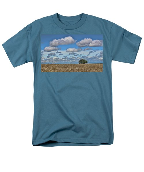 Lone Tree Men's T-Shirt  (Regular Fit) by Sylvia Thornton