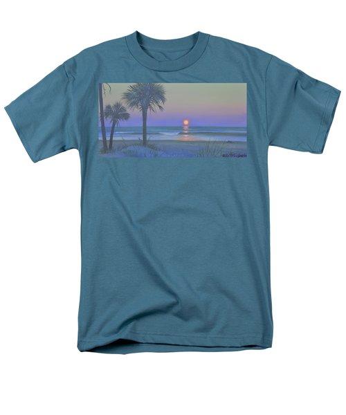 Palmetto Moon Men's T-Shirt  (Regular Fit) by Blue Sky